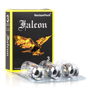 Falcon Replacement Coil 3 Pack by Horizon | Horizon Falcon Replacement Coils | Sub Ohm Vape Coils | Cheap Horizon Vape Deals | Wholesale to the Public | Cheapest Vape Store Online | Vape | Vapor | Ecig | Ejuice | Eliquid | HorizonTech Vape | Horizon USA | ECIGMAFIA