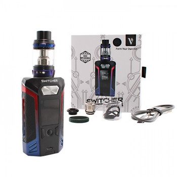 Switcher LED Kit by Vaporesso | Vaporesso Switcher LED 220w TC Kit Comes With NRG Sub-Ohm Tank | Box Mod Vape Kits | Cheap Vaporesso Vape Deals | Wholesale to the Public | Cheapest Vape Store Online | Vape | Vapor | Ecig | Ejuice | Eliquid | Vaporesso Vape | Vaporesso USA | ECIGMAFIA