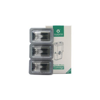 Suorin iShare AiO Replacement Pod Cartridges 3 Pack by Suorin | Suorin iShare Pods | Suorin iShare Cartridges | Vape Pod System Cartridges | Cheap Suorin Vape Deals | Wholesale to the Public | Cheapest Vape Store Online | Vape | Vapor | Ecig | Ejuice | Eliquid | Suorin Vape | Suorin USA | Suorin | ECIGMAFIA