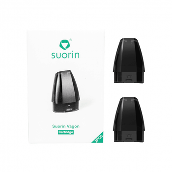 Suorin Vagon AiO Replacement Pod Cartridges 2 Pack by Suorin | Suorin Vagon Pods | Suorin Vagon Cartridges | Vape Pod System Cartridges | Cheap Suorin Vape Deals | Wholesale to the Public | Cheapest Vape Store Online | Vape | Vapor | Ecig | Ejuice | Eliquid | Suorin Vape | Suorin USA | Suorin | ECIGMAFIA