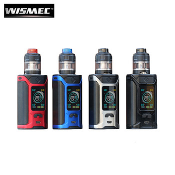 Sinuous Ravage 230 230W Starter Kit by Wismec | Wismec Sinuous Ravage 230 Kit Comes With Gnome King Sub-Ohm Tank | Sub-Ohm Vape Kit | Cheap Wismec Vape Deals | Wholesale to the Public | Cheapest Vape Store Online | Vape | Vapor | Ecig | Ejuice | Eliquid | Wismec Vape | Wismec USA | ECIGMAFIA