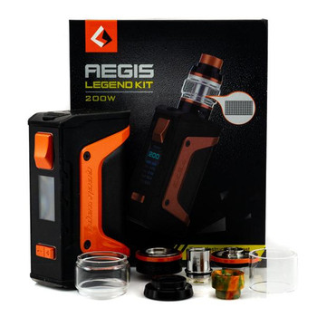 Aegis Legend Starter Kit by GeekVape | GeekVape Aegis Legend Starter Kit Comes With Aero Mesh Sub Ohm Tank | Sub Ohm Vape Box Mod Kits | Cheap GeekVape Vape Deals | Wholesale to the Public | Cheapest Vape Store Online | Vape | Vapor | Ecig | Ejuice | Eliquid | GeekVape Vape | GeekVape USA | ECIGMAFIA