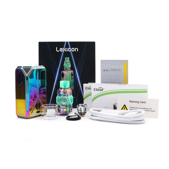Lexicon Kit by Eleaf | Eleaf Lexicon 235w TC Kit Comes With Ello Duro Sub-Ohm Tank | Cheap Box Mod Vape Kits | Cheap Eleaf Vape Deals | Wholesale to the Public | Cheapest Vape Store Online | Vape | Vapor | Ecig | Ejuice | Eliquid | Eleaf Vape | Eleaf USA | ECIGMAFIA