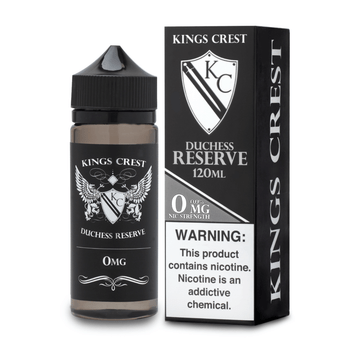 Duchess Reserve E-Juice 120mL by King's Crest | King's Crest Duchess Reserve 120mL E-Liquid | Duchess Reserve 120mL | Cheap E-Juices | Cheap e-Liquid Deals | Cheap King's Crest E-Juice Deals | Wholesale to the Public | Cheapest Vape Store Online | Vape | Vapor | Ecig | Ejuice | Eliquid | King's Crest E-Liquids | King's Crest USA | King's Crest | ECIGMAFIA