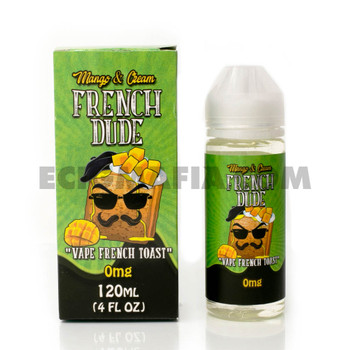 French Dude Mango E-Juice 120mL by Vape Breakfast Classics | French Dude Mango 120mL E-Liquid | French Dude Mango 120mL | Cheap E-Juices | Cheap e-Liquid Deals | Cheap French Dude E-Juice Deals | Wholesale to the Public | Cheapest Vape Store Online | Vape | Vapor | Ecig | Ejuice | Eliquid | French Dude E-Liquids | French Dude USA | French Dude Ejuice | ECIGMAFIA