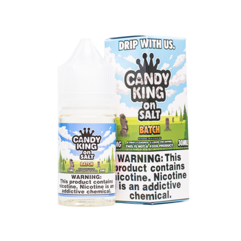 Batch Salt E-Juice 30mL by Candy King | Candy King Batch Salt 30mL E-Liquid | Candy King on Salt Batch 30mL | Cheap Salt E-Juices | Cheap Salt E-Liquid Deals | Cheap Candy King Salt E-Juice Deals | Wholesale to the Public | Cheapest Vape Store Online | Vape | Vapor | Ecig | Ejuice | Eliquid | Candy King Salt E-Liquids | Candy King USA | Candy King Salt Ejuice | ECIGMAFIA
