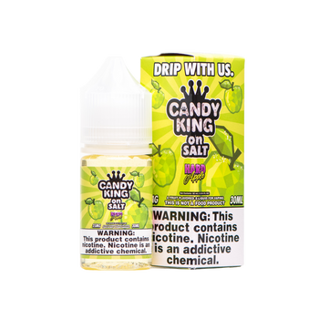 Hard Apple Salt E-Juice 30mL by Candy King | Candy King Hard Apple Salt 30mL E-Liquid | Candy King on Salt Hard Apple 30mL | Cheap Salt E-Juices | Cheap Salt E-Liquid Deals | Cheap Candy King Salt E-Juice Deals | Wholesale to the Public | Cheapest Vape Store Online | Vape | Vapor | Ecig | Ejuice | Eliquid | Candy King Salt E-Liquids | Candy King USA | Candy King Salt Ejuice | ECIGMAFIA