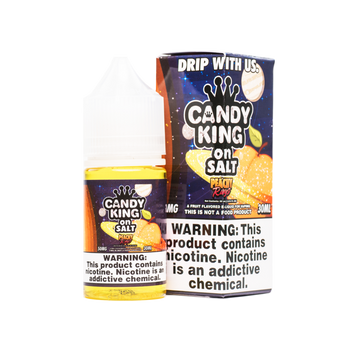 Peachy Rings Salt E-Juice 30mL by Candy King | Candy King Peachy Rings Salt 30mL E-Liquid | Candy King on Salt Peachy Rings 30mL | Cheap Salt E-Juices | Cheap Salt E-Liquid Deals | Cheap Candy King Salt E-Juice Deals | Wholesale to the Public | Cheapest Vape Store Online | Vape | Vapor | Ecig | Ejuice | Eliquid | Candy King Salt E-Liquids | Candy King USA | Candy King Salt Ejuice | ECIGMAFIA