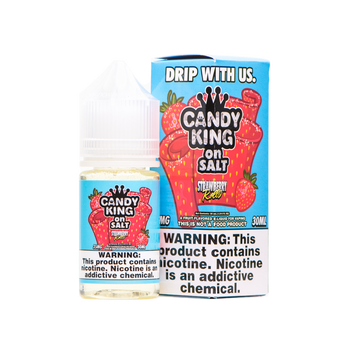 Strawberry Rolls Salt E-Juice 30mL by Candy King | Candy King Strawberry Rolls Salt 30mL E-Liquid | Candy King on Salt Strawberry Rolls 30mL | Cheap Salt E-Juices | Cheap Salt E-Liquid Deals | Cheap Candy King Salt E-Juice Deals | Wholesale to the Public | Cheapest Vape Store Online | Vape | Vapor | Ecig | Ejuice | Eliquid | Candy King Salt E-Liquids | Candy King USA | Candy King Salt Ejuice | ECIGMAFIA