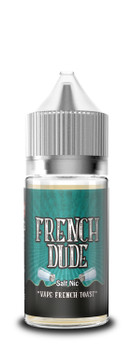 French Dude Salt Nic E-Juice 30mL by Vape Breakfast Classics | French Dude Salt Nic 30mL E-Liquid | French Dude Salt Nic 30mL | Cheap Salt Nic E-Juices | Cheap Salt Nic e-Liquid Deals | Cheap French Dude Salt Nic E-Juice Deals | Wholesale to the Public | Cheapest Vape Store Online | Vape | Vapor | Ecig | Ejuice | Eliquid | French Dude Salt Nic E-Liquids | French Dude Salt Nic USA | French Dude Salt Nic Ejuice | ECIGMAFIA
