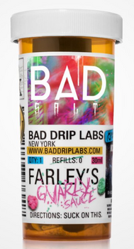 Farley's Gnarly Sauce Salt E-Juice 30ml by Bad Drip Labs E-Liquids | Bad Drip Labs Farley's Gnarly Sauce Salt 30ml E-Liquid | Farley's Gnarly Sauce Salt 30ml | Cheap E-Juices | Cheap e-Liquid Deals | Cheap Bad Drip Labs E-Juice Deals | Wholesale to the Public | Cheapest Vape Store Online | Vape | Vapor | Ecig | EJuice | Eliquid | Bad Drip Labs E-Liquids | Bad Drip Labs USA | Bad Drip Labs E-Liquids | ECIGMAFIA