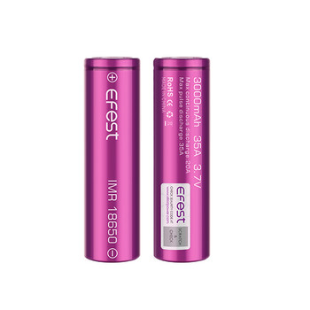 Efest 18650 3000mAh 35A Battery by Efest | Efest 3000mAh 18650 Battery | 18650 Vape Battery | Cheap Efest 18650 Vape Battery Deals | Wholesale to the Public | Cheapest Vape Store Online | Vape | Vapor | Ecig | Ejuice | Eliquid | Efest Vape | Efest USA | ECIGMAFIA