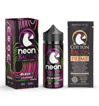 Punch'd E-Juice 100ML by Neon Bacon E-Liquids | Neon Bacon E-Liquid Punch'd 100ML | Punch'd  100ML | Cheap E-Juices | Cheap Deals | Cheap Neon Bacon E-Liquid E-Juice Deals | Wholesale to the Public | Cheapest Vape Store Online | Vape | Vapor | Ecig | EJuice | Eliquid | Neon Bacon E-Liquids | Neon Bacon E-Liquid USA | Neon Bacon E-Liquids | ECIGMAFIA