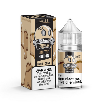 Tobacco E-Juice 30ML by Air Factory Salts E-Liquids | Air Factory Salts E-Liquid Tobacco 30ML | Tobacco  30ML | Cheap E-Juices | Cheap Deals | Cheap Air Factory Salts E-Liquid E-Juice Deals | Wholesale to the Public | Cheapest Vape Store Online | Vape | Vapor | Ecig | EJuice | Eliquid | Air Factory Salts E-Liquids | Air Factory Salts E-Liquid USA | Air Factory Salts E-Liquids | ECIGMAFIA