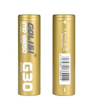 Golisi G30 3000mAh 20A 18650 by Golisi | Golisi 20A Battery | Golisi Vape Battery | Cheap Golisi Deals | Cheapest Vape Store Online | Golisi Vape | Golisi USA + ECIGMAFIA