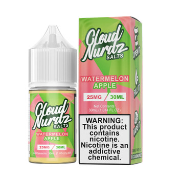 Cloud Nurdz Salts Watermelon Apple 30ml E-Juice