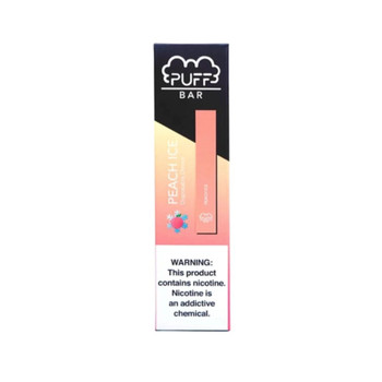 Puff Bar Peach Ice Disposable Pod Device
