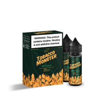 Tobacco Monster Menthol Salt 30ml (2x 15ml) E-Juice
