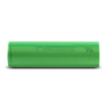Sony (Green) VTC5A 18650 (2600mAh) 25A 3.7V Battery Flat-Top - (Pack of 2)
