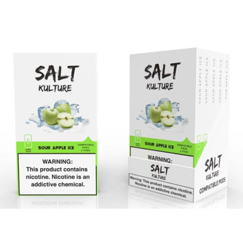 Salt Kulture Sour Apple Ice (Pack of 4)