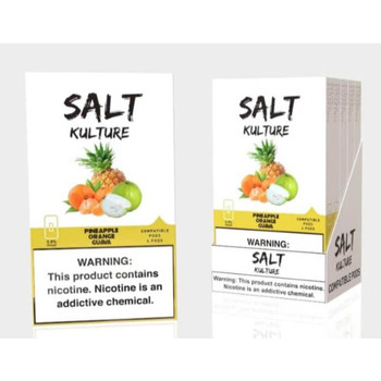 Salt Kulture Pineapple Orange Guava (Pack of 4)