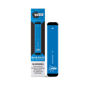 Buzz Blue Razz Disposable Pod