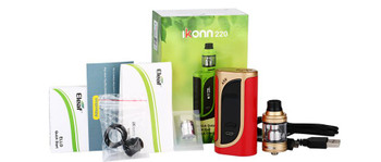 iKonn 220 Kit by Eleaf | Eleaf iKonn 220 220w TC Kit Comes With Ello Sub-Ohm Tank | Cheap Box Mod Vape Kits | Cheap Eleaf Vape Deals | Wholesale to the Public | Cheapest Vape Store Online | Vape | Vapor | Ecig | Ejuice | Eliquid | Eleaf Vape | Eleaf USA | ECIGMAFIA