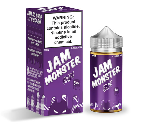 Grape Jam E-Liquid 100ml by Jam Monster eJuice