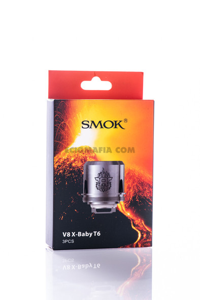 TFV8 X-BABY COILS by SMOK by SMOK TFV8 X-BABY Replacement COILS 3 PACK by SMOK TFV8 X-BABY COILS by Q2 + M2 + T6 + X4 by Cheap SMOK Vape COILS by Cheap SMOK Vape Deals by Wholesale to the Public by Cheapest Vape Store Online by Vape by Vapor by Ecig by Ejuice by Eliquid by SMOK Vape by SMOK ECIG by SMOK USA by SMOKTECH by ECIGMAFIA