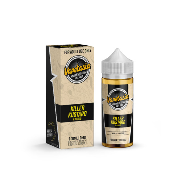 Killer Kustard E-Liquid 100ml by Vapetasia eJuice