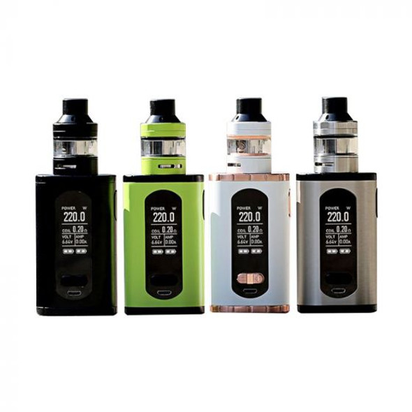 Invoke Kit by Eleaf by Eleaf Invoke 220w TC Kit Comes With Ello T Sub-Ohm Tank by Cheap Box Mod Vape Kits by Cheap Eleaf Vape Deals by Wholesale to the Public by Cheapest Vape Store Online by Vape by Vapor by Ecig by Ejuice by Eliquid by Eleaf Vape by Eleaf USA by ECIGMAFIA