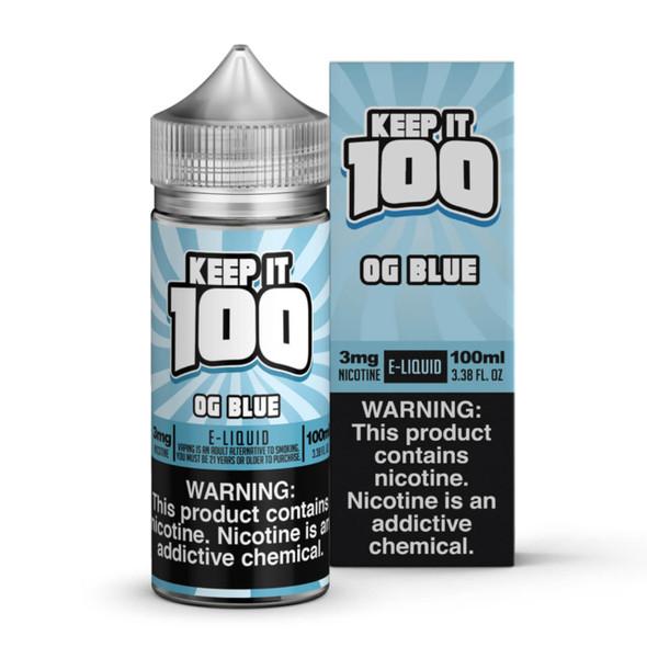 Blue Slushie E-Liquid 100ml by Keep it 100 eJuice