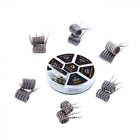 6-in-1 Prebuilt Coils by GeekVape by GeekVape 6-in1 Prebuilt Coils Pack by Vape Coils by Cheap GeekVape Vape Deals by Wholesale to the Public by Cheapest Vape Store Online by Vape by Vapor by Ecig by Ejuice by Eliquid by GeekVape Vape by GeekVape USA by ECIGMAFIA