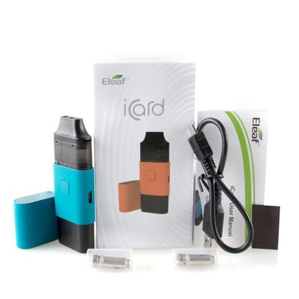 iCard AiO POD Kit by ELEAF | ELEAF iCard AiO Pod System Kit | Cheap AiO Pod System Kits | Cheap ELEAF Vape Deals | Wholesale to the Public | Cheapest Vape Store Online | Vape | Vapor | Ecig | Ejuice | Eliquid | ELEAF Vape | ELEAF USA | ECIGMAFIA