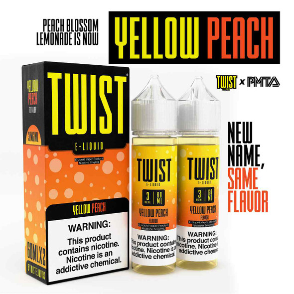 Peach Blossom Lemonade E-Liquid 120ml by Lemon Twist eJuice