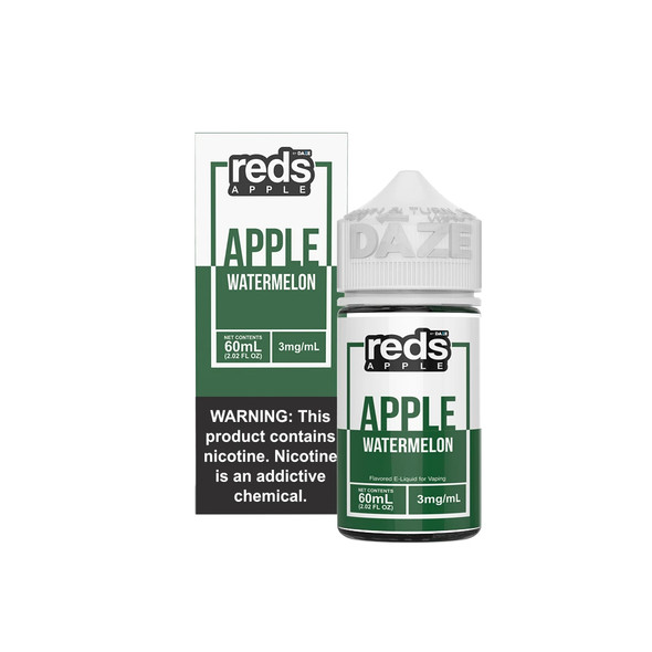 Watermelon Red's Apple E-Juice 60mL by Red's Apple + 7Daze E-Liquids | Watermelon Red's Apple 60mL E-Liquid | Watermelon Red's Apple 60mL | Cheap E-Juices | Cheap e-Liquid Deals | Cheap Red's Apple E-Juice Deals | Wholesale to the Public | Cheapest Vape Store Online | Vape | Vapor | Ecig | Ejuice | Eliquid | Red's Apple E-Liquids | Red's Apple USA | Red's Apple | ECIGMAFIA