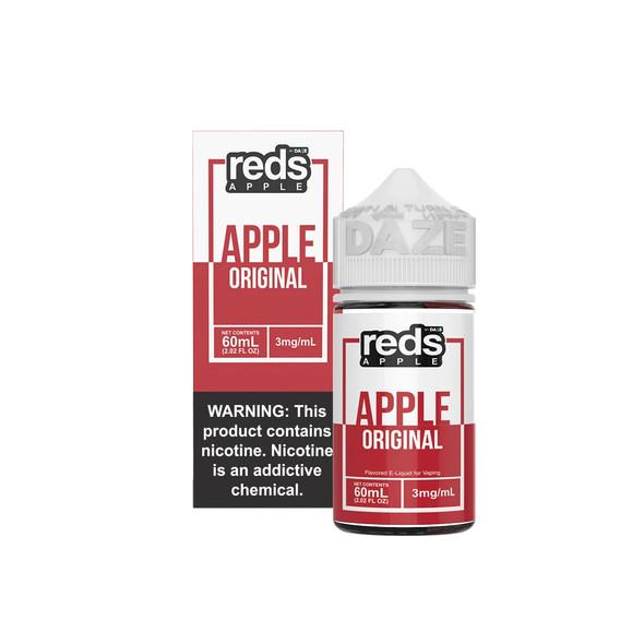 Red's Apple E-Juice 60mL by Red's Apple + 7Daze E-Liquids | Red's Apple 60mL E-Liquid | Red's Apple 60mL | Cheap E-Juices | Cheap e-Liquid Deals | Cheap Red's Apple E-Juice Deals | Wholesale to the Public | Cheapest Vape Store Online | Vape | Vapor | Ecig | Ejuice | Eliquid | Red's Apple E-Liquids | Red's Apple USA | Red's Apple | ECIGMAFIA