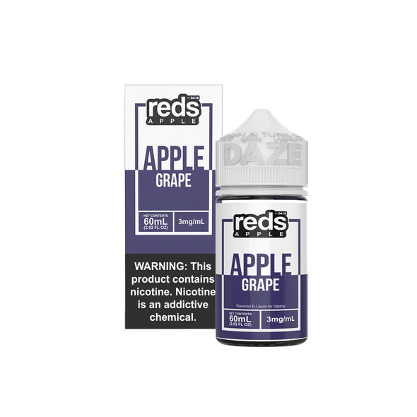 Grape Red's Apple Iced E-Juice 60mL by Red's Apple + 7Daze E-Liquids | Grape Red's Apple Iced 60mL E-Liquid | Grape Red's Apple Iced 60mL | Cheap E-Juices | Cheap e-Liquid Deals | Cheap Red's Apple E-Juice Deals | Wholesale to the Public | Cheapest Vape Store Online | Vape | Vapor | Ecig | Ejuice | Eliquid | Red's Apple E-Liquids | Red's Apple USA | Red's Apple | ECIGMAFIA