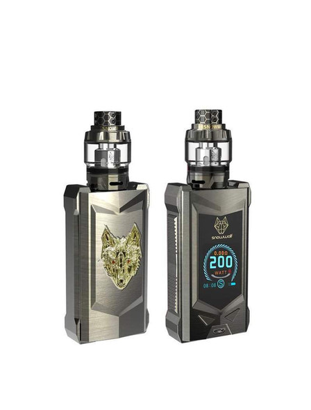 MFENG 200W TC Kit by SnowWolf by SnowWolf MFENG 200W Starter Kit Comes With Wolf Sub-Ohm Tank by Box Mod Vape Kits by Cheap SnowWolf Vape Kit Deals by Wholesale to the Public by Cheapest Vape Store Online by Vape by Vapor by Ecig by Ejuice by Eliquid by SnowWolf Vape by SnowWolf USA by ECIGMAFIA
