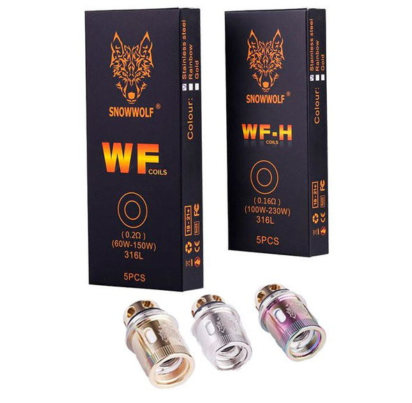 SnowWolf Wolf WF Series Coils - 5 Pack