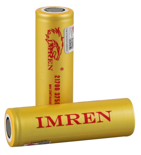 Imren 21700 3750mAh 40A IMR Battery (Pack of 2)