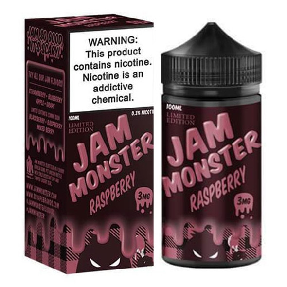 Raspberry Jam E-Liquid 100ml by Jam Monster eJuice
