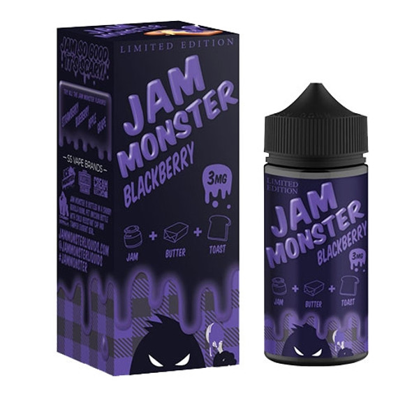 Blackberry Jam E-Liquid 100ml by Jam Monster eJuice