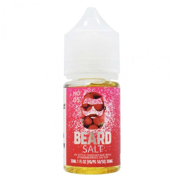 No.5 Salt E-Liquid 30ml by Beard Vape Co eJuice