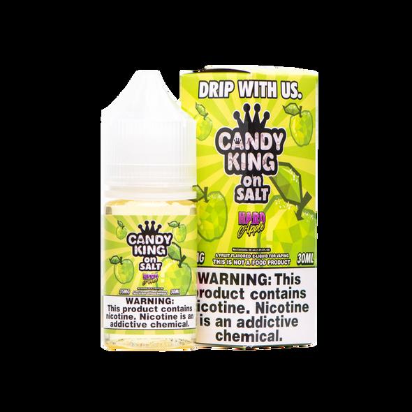 Hard Apple Salt E-Liquid 30ml by Candy King on Salt eJuice