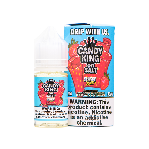 Strawberry Rolls Salt E-Liquid 30ml by Candy King on Salt eJuice