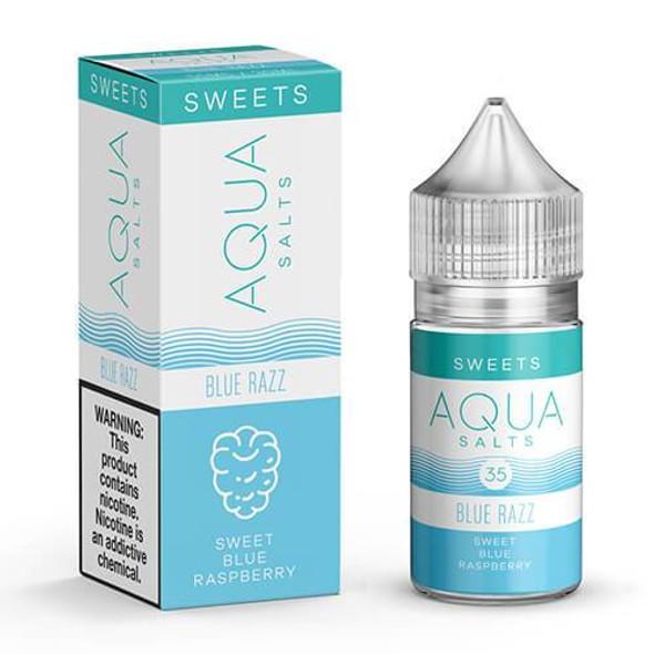 Blue Razz Salts eJuice by Aqua Salts Sweets E-Liquid 30ML