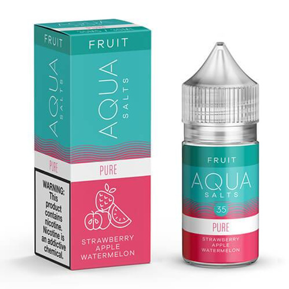 Pure Salts E-Juice 30mL by Aqua Salts Fruit E-Liquids | Aqua Salts Pure 30mL E-Liquid | Pure Salts 30mL | Cheap E-Juices | Cheap e-Liquid Deals | Cheap Aqua Salts E-Juice Deals | Wholesale to the Public | Cheapest Vape Store Online | Vape | Vapor | Ecig | Ejuice | Eliquid | Aqua Salts E-Liquids | Aqua Salts USA | Aqua Salts E-Juices | ECIGMAFIA