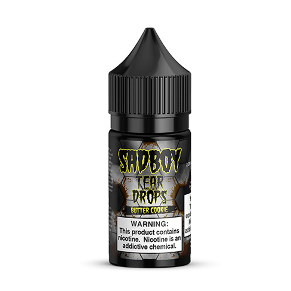 Butter Cookie Salt eJuice by SadBoy Tear Drops E-Liquid 30ML