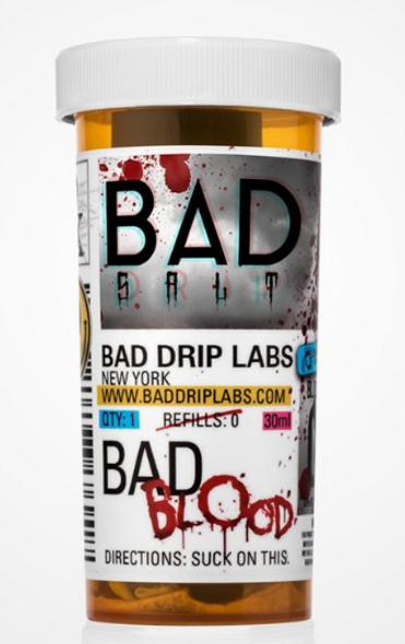 Bad Blood Salt eJuice by Bad Drip Labs E-Liquid 30ML